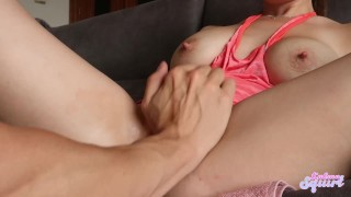 Delicious wet pussy eating