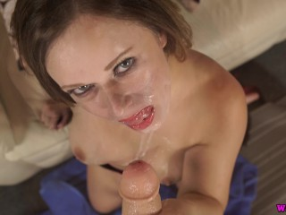 Hot Mom Takes A Facial From Her Sons Friend And Loves It