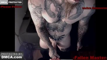 tatted butt fleshlight cum fuckn