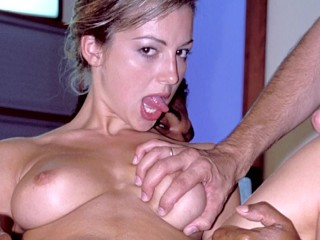 Natalie, Franco Roccaforte, Steve Holmes with Anal and DP