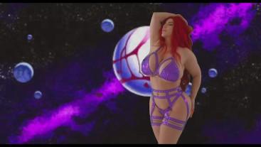 Starfire JOI tit worship by Korina Kova