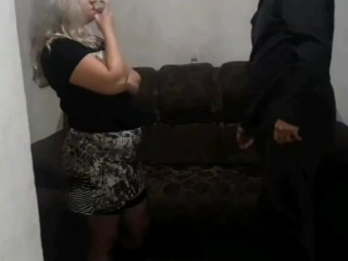 WIFE HAS SEX WITH HORNY FRIEND IN FRONT OF HIM (Full version for sale)