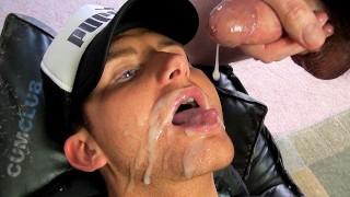 Cum Club: Oh Wow, That Was A Lot! – Big Load Facial & Cum Swallowing