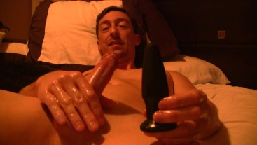 Edging My Oiled Up Dick Then Using A Butt Plug At The End Part 2 Vegaslife4