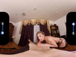 BaDoinkVR Busty Counselor Britney Amber Testing Your Escort Skills