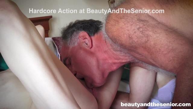 Senir citizen sex - Senior teacher grades student with cum