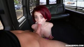 BANGBROS - Young Redhead Lola Fae Taking Anal On The Bang Bus!