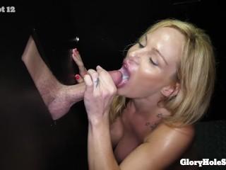 Vampire Sucking Breast Erotica Fucking, Huge tit blonde sucking cum out of cocks Big Dick Big Tits