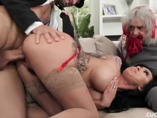 Big Tit Lily Lane Cucks Her Husband By Fucking The Well Endowed Chauffeur Alex Legend, Lily Lane