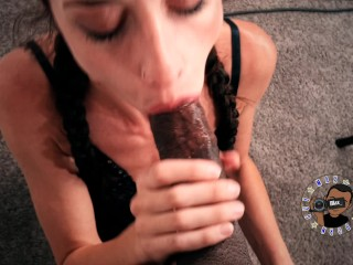 SE Sexy Ama Rio gives me an AMAZING POV Blowjob Trailer MaxThePornGuy