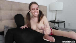 Brooke Bliss- He Tried Not to CUM
