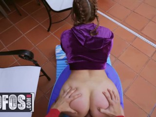 MOFOS - Curvy pawg Brooke Benz gets picked up