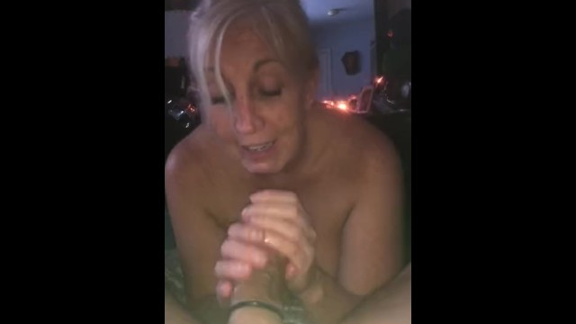 Blow job mature young - Awesome blow job