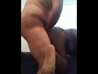 Fucking my neighbors husband raw uncut, uncensored part 1