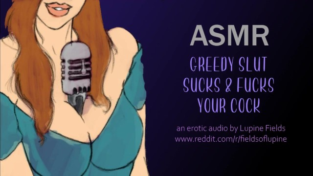 Erotic ghost story watch online Asmr - greedy slut sucks fucks your cock - intense erotic audio