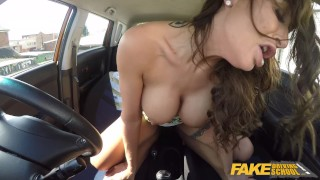 Fake Driving School Princess Jas Fucks Big Black Cock