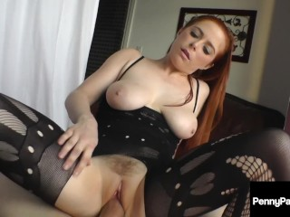 Tube Title: Cock Milker Penny Pax Slurps & Sucks A Big Fat Cock POV !