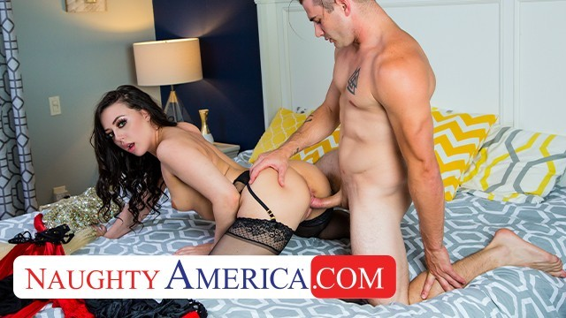 America kiss my ass - Naughty america - whitney wright gives her friends brother a surprise fuck