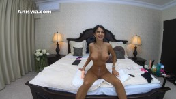 huge white cock dripping cum on her body - anisyia livejasmin in 4k @60fps