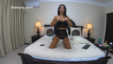 lace lingerie and red soles louboutins - anisyia livejasmin in 4k @60fps