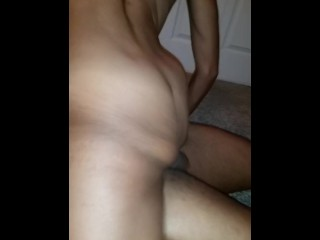 Small wife takes bbc from her weedman while husband is at work