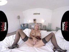 VIRTUAL TABOO - Blonde MILF With Perfect Tits