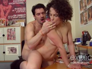 French porn star Nikita Belluccis very first porn casting Collector Michael Cheritto, Nikita Bellucci