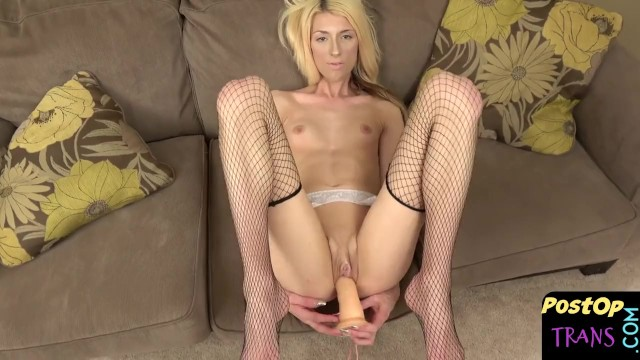 Adult picture post sites Sexy post op tgirl dildoing her new pussy