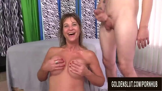 Cock Hungry Older Sky Haven Left Cum Drenched After a DP Gangbang