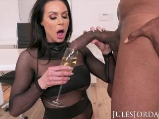 Jules Jordan Big Tit MILF Star Kendra Lust Has A BBC Celebration Dredd, Kendra Lust