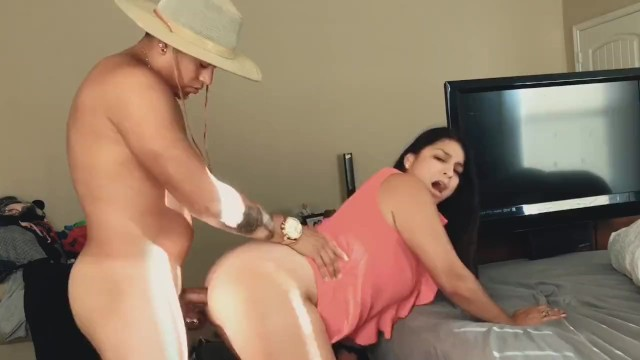 Latex landscape orientation Let my new latino landscaper dick me down anal style b 4 my hubby got home
