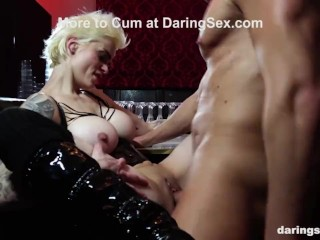 Punk Chick Acting Like a Cheap Whore Marc Rose, Mila Milan