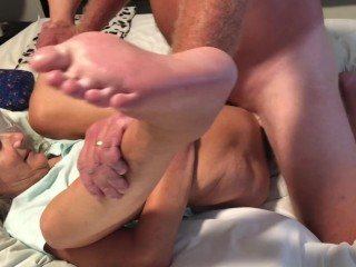 Hot Milf And Hubby Have A Fuck Session Ending With A Big Orgasm For Wife