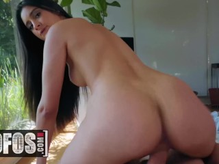 MOFOS – Uninvited Houseguest Eliza Ibarra gets fucked by perv