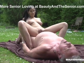 Old Man Retires in Hot Pussy