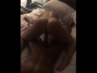 HUGE BBC DICK RIDE FOR MILF POLE DANCER BOOTY