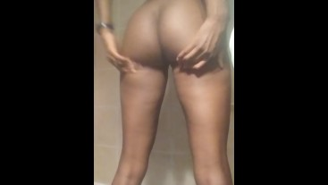 College Student Getting Hot in the Shower