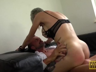 PASCALSSUBSLUTS – Busty Tanya Virago fed cum after HC anal