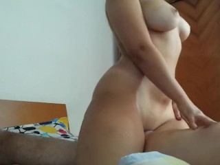 Thick girlfriend riding dick like a pro by MadPleasures
