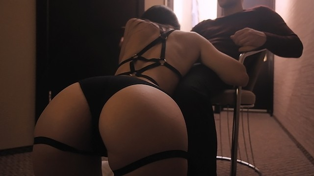 Sexy lingerie great brition Hot girl with great body dancing in her sexy lingerie and riding dick