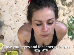 Sexy training with crazy coach part 2: on the beach lolly_lips