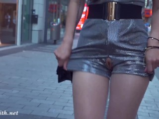 Momoko Fuck Jeny Smith compilation. Naked in public with flashing and body art scenes