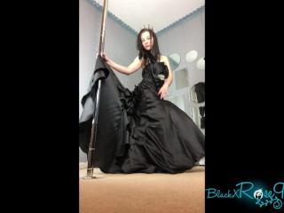 Trying On My Halloween Wedding Gown BlackxRose