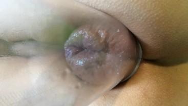quick anal pumping - rosebud