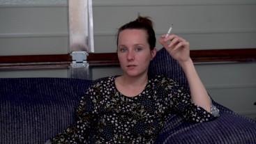 Young Teen Smoking
