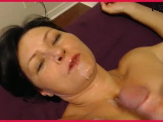 RE UPLOAD – FUCKING A HOT NEIGHBOR. TWO LOADS OF CUM ON HER FACE & MOUTH!!!
