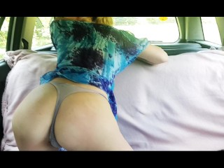 Anna Rey Fucking Squirting Near The Forest Public...