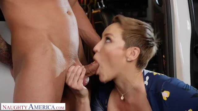 Fuck naughty america Naughty america - ryan keely fucks for a discount at the mechanic