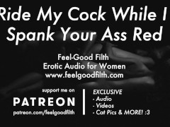 Pussy Licking & Rough Big Cock Sex w/ Spanking (Erotic Audio for Women)