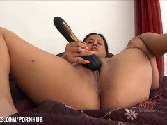 Selma Sins moaning as she toys her taco & spanks her Latina ass ATK Exotics